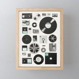 Data Framed Mini Art Print