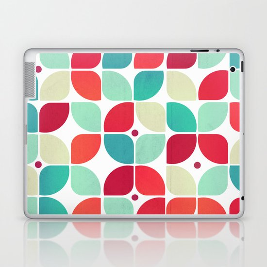 Vintage Garden Pattern Laptop & iPad Skin
