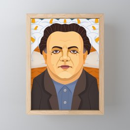 Diego Rivera Framed Mini Art Print