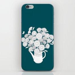 summer teapot iPhone Skin