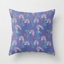 Botanical Geometry-H01 Throw Pillow