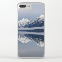 Lake Mcdonald Clear iPhone Case