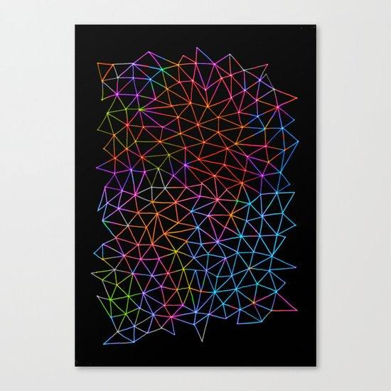 Geometric Glow Canvas Print