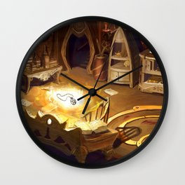 The Magicians Laboratory Wall Clock