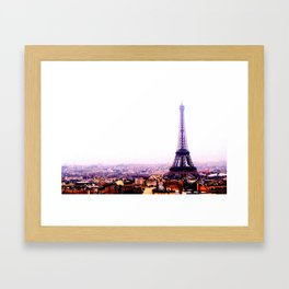 The Doc Goes Around the World - Paris Framed Art Print