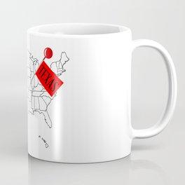 Knob Pin Texas Coffee Mug