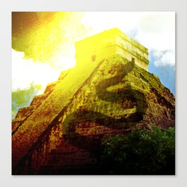 Temple of the Snake Canvas Print