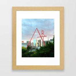 Home Is Where The Art Is Framed Art Print