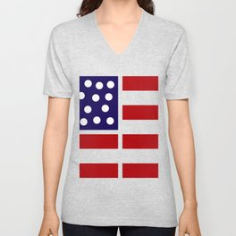 American design! USA flag #society6 #decor #buyart #artprint Unisex V-Neck