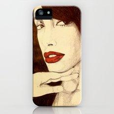 Aaliyah iPhone (5, 5s) Slim Case