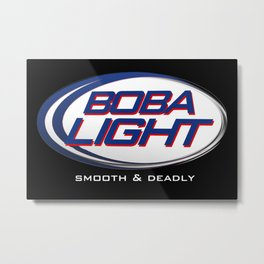 Boba-Light   Metal Print