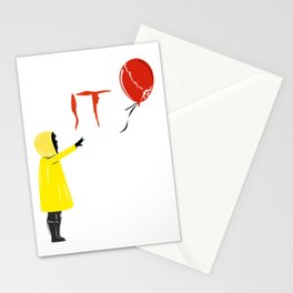 IT clown Pennywise Stationery Cards