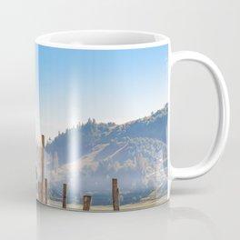 Palafito Houses at Lake, Chiloe, Chile Coffee Mug
