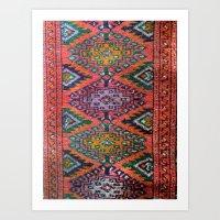 kilim Art Prints featuring Kilim by Selen Atac