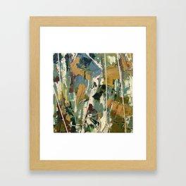 Moss Study 3 Framed Art Print