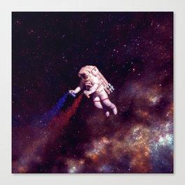 """Shooting Stars"" - Astronaut Artist Canvas Print"