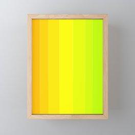 Variety Yellow Framed Mini Art Print