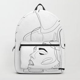 B Yellow Lip Backpack
