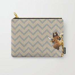 Chevron Giraffe! Carry-All Pouch