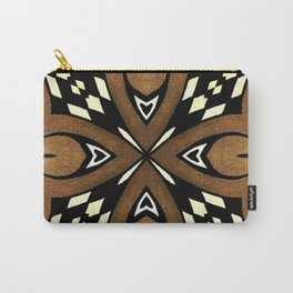 Cocoa Brown Carry-All Pouch