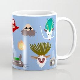 The many faces of Ghibli Coffee Mug