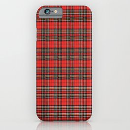 Vintage Plaid Lunchbox iPhone Case