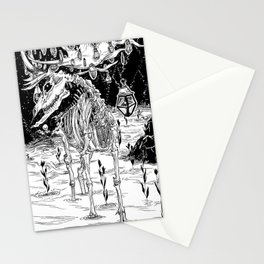 I'll help you to disappear ... If you let me your essence Stationery Cards
