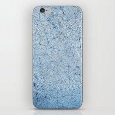 Cracks In Blue iPhone & iPod Skin