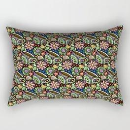 Paisley Cafe di Sahja Rectangular Pillow