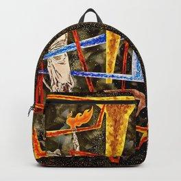 Monumental geometric Backpack