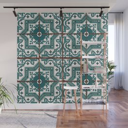 Portuguese Tile Wall Mural