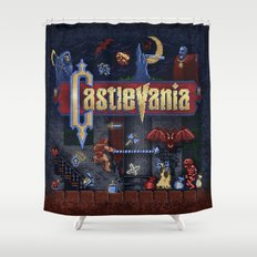 Vania Castle Shower Curtain