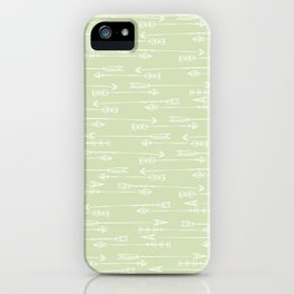Follow the arrow iPhone Case