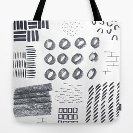 Abstract Marks Nr 1 Tote Bag