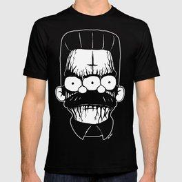 Black Metal Religious Guy T-shirt
