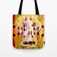 grim fandango Tote Bags featuring Grim by Jamie Bryan