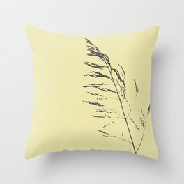 sand reed  Throw Pillow