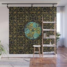 Decorative Triquetra Celtic Ornament Wall Mural