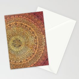 The Center of It All in Color Stationery Cards