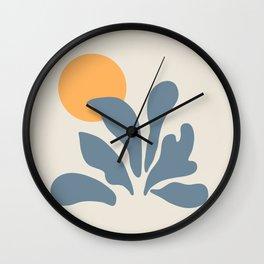 Exhibition poster Henri Matissen 1953. Wall Clock