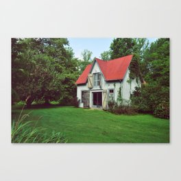The Lindens Carriage House Canvas Print