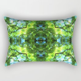 Project 129.3 - Abstract Photomontage Rectangular Pillow