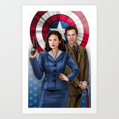 Peggy and Jarvis Art Print