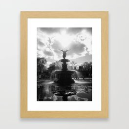 Bethesda Fountain (New York)   Framed Art Print