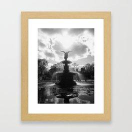 Bethesda Fountain (New York)   Framed Art Print