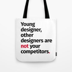 Young Designer — Advice #1 Tote Bag