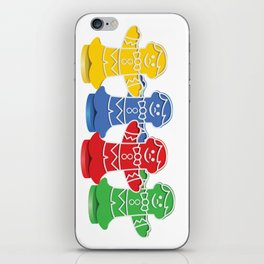 Candy Board Game Figures iPhone Skin