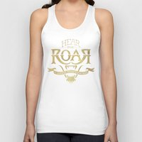 lannister Tank Tops featuring Game of Type by Jango Snow