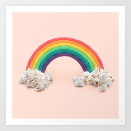 RAINBOW CANDY  Art Print