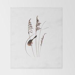 Sea Oats Throw Blanket